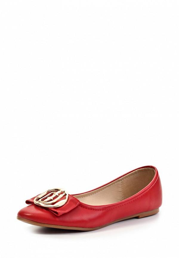 Туфли на плоской подошве Burlesque MFS-FT001-1: изображение 1