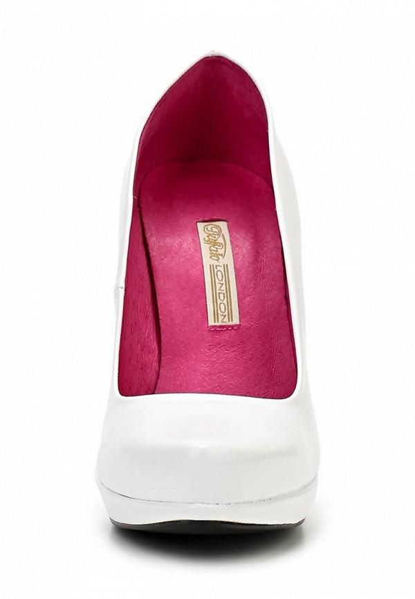 Туфли на каблуке Buffalo London 9669-177 BL: изображение 4