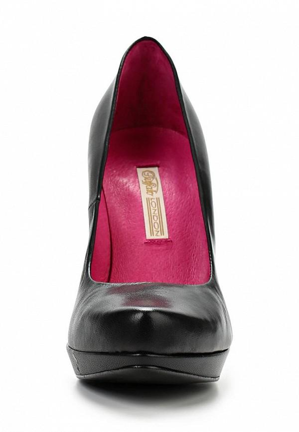 Туфли на шпильке Buffalo London 9669-177 BL: изображение 4