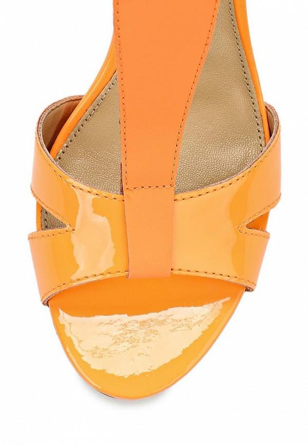 фото Босоножки на каблуке Buffalo London BU902AWARL19, оранжевые