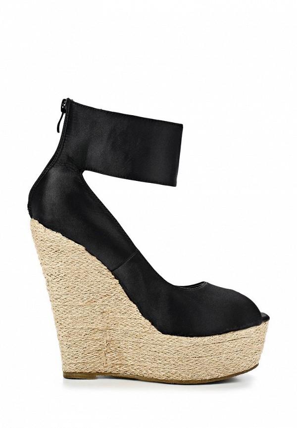 фото Туфли на платформе с открытым носом Camelot CA011AWBBC00, черные