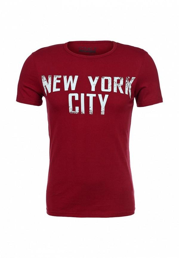 Футболка с надписями Camelot (Камелот) NYC-SS14: изображение 2