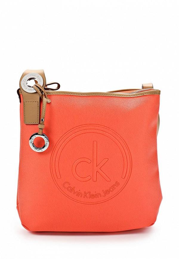 Кожаная сумка Calvin Klein (Кельвин Кляйн) J6EJ600020: изображение 1