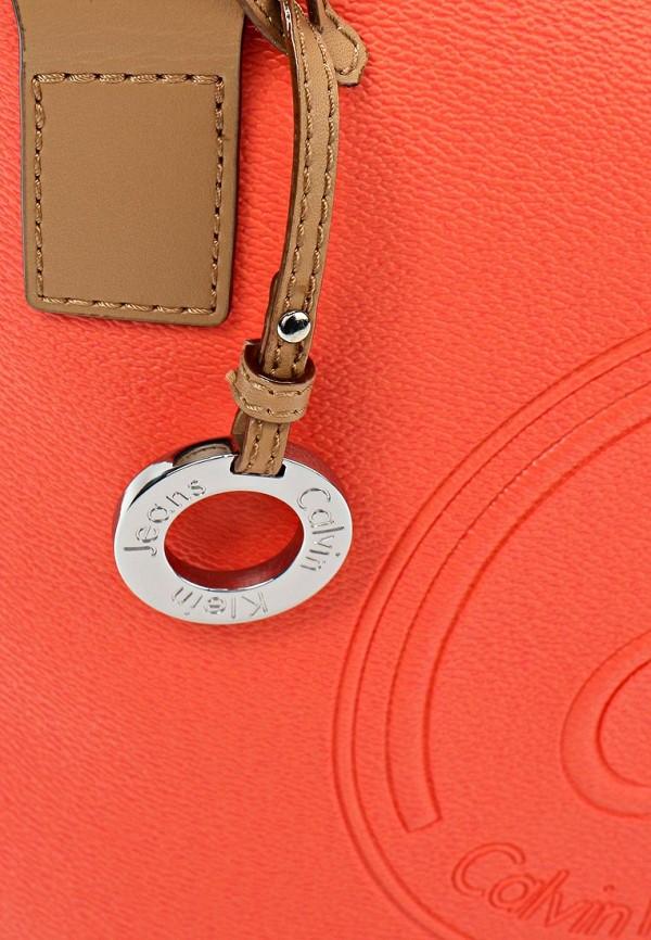 Кожаная сумка Calvin Klein (Кельвин Кляйн) J6EJ600020: изображение 3