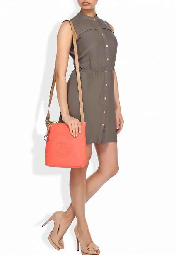 Кожаная сумка Calvin Klein (Кельвин Кляйн) J6EJ600020: изображение 4