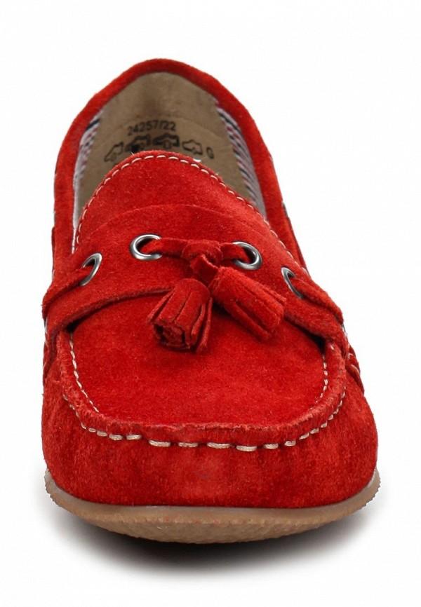 фото Мокасины женские Caprice CA107AWAPA68, красные