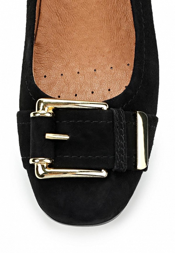 фото Туфли женские на толстом каблуке Caprice CA107AWCEM28, черные
