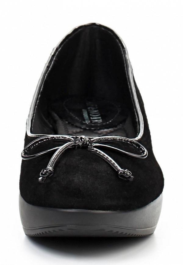 Туфли на плоской подошве CAF'eNoir TDF601010F8: изображение 4