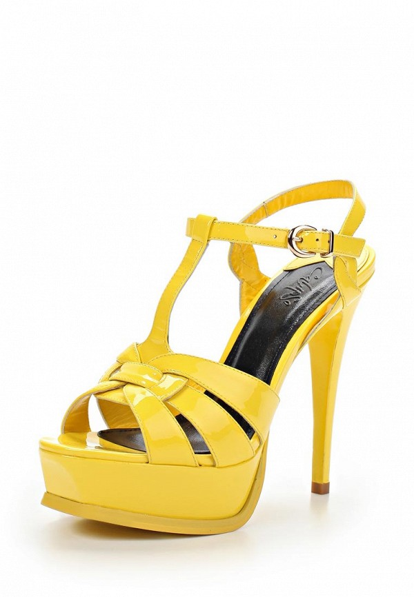 Босоножки на каблуке Calipso (Калипсо) 695-03-LR-14-LK-01: изображение 1