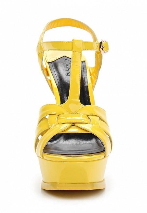 Босоножки на каблуке Calipso (Калипсо) 695-03-LR-14-LK-01: изображение 4
