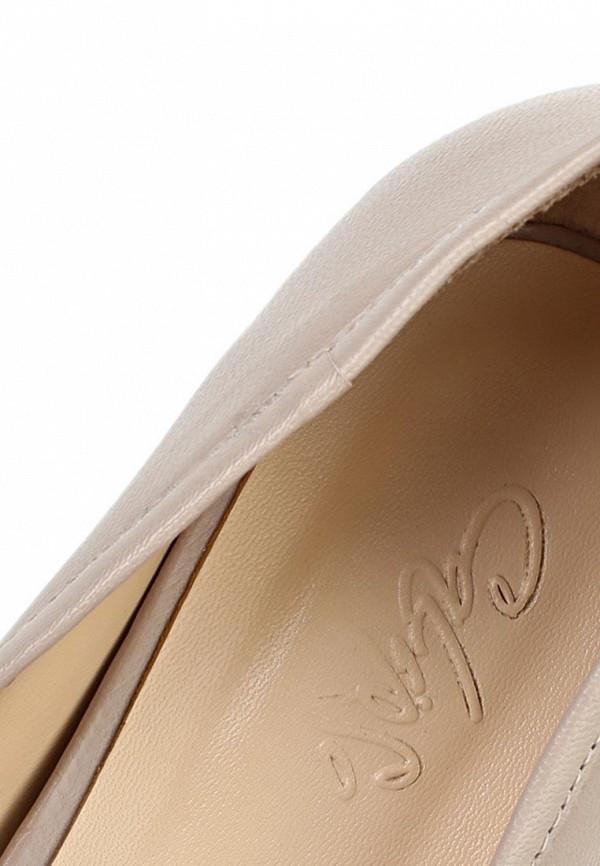 фото Туфли на платформе Calipso CA549AWBBP50, бежевые кожаные