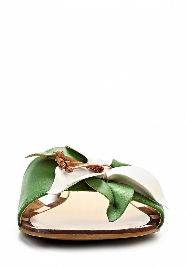 фото Сабо женские Calipso CA549AWBLW72, зеленые
