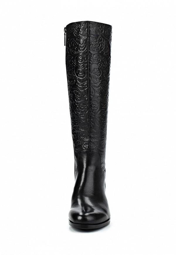 фото Сапоги женские на низком каблуке Calipso CA549AWCFT42, черные