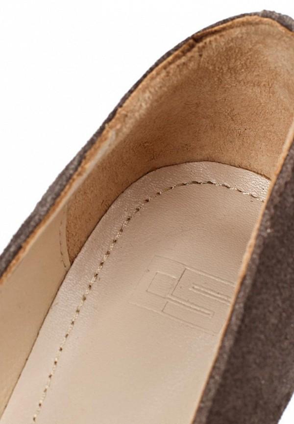 фото Туфли женские на танкетке Calipso CA549AWCFU24, коричневые