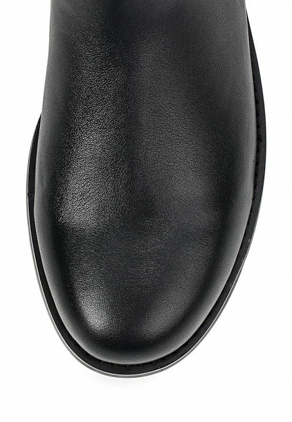 фото Женские сапоги-ботфорты Calipso CA549AWCNX31, черные кожаные