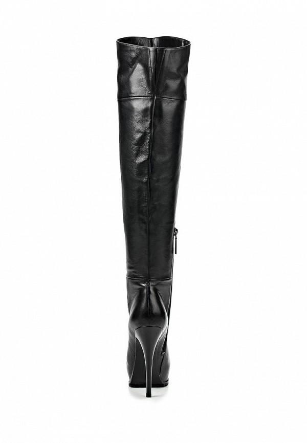 фото Женские ботфорты на платформе Calipso CA549AWCNY21, черные на шпильке