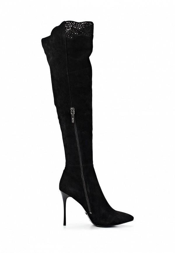 фото Женские ботфорты на шпильке Calipso CA549AWCNY23, черные/демисезон