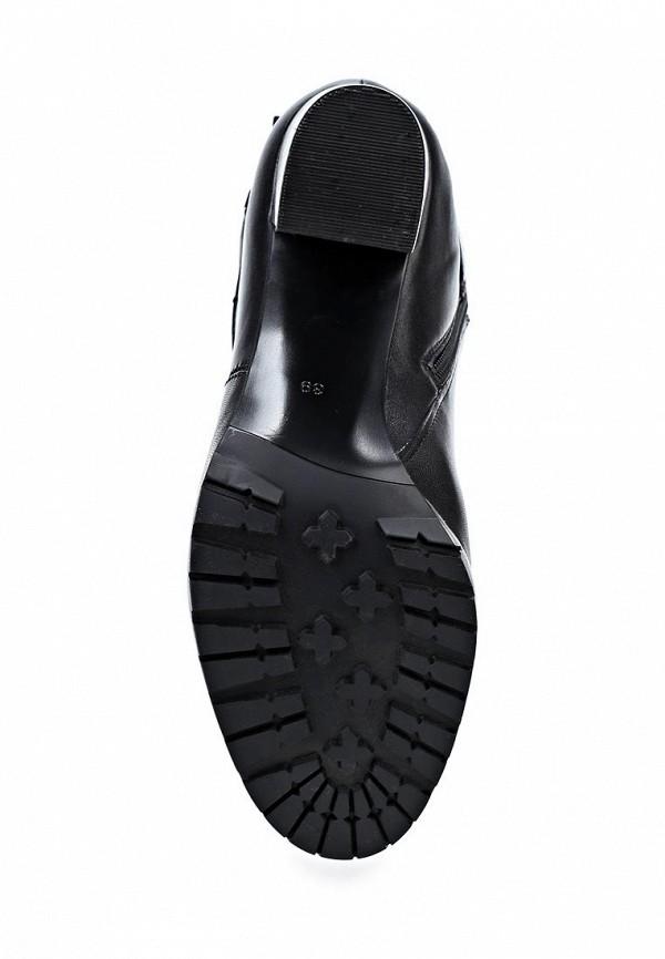 фото Сапоги женские на высоком каблуке Calipso CA549AWCNY46, черные (кожа)