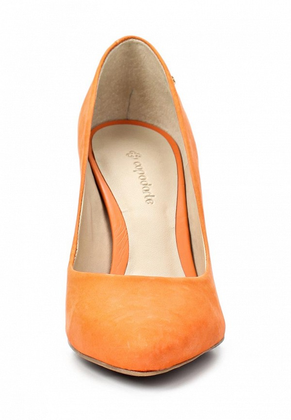 фото Туфли женские на шпильке Capodarte CA556AWAET00, оранжевые