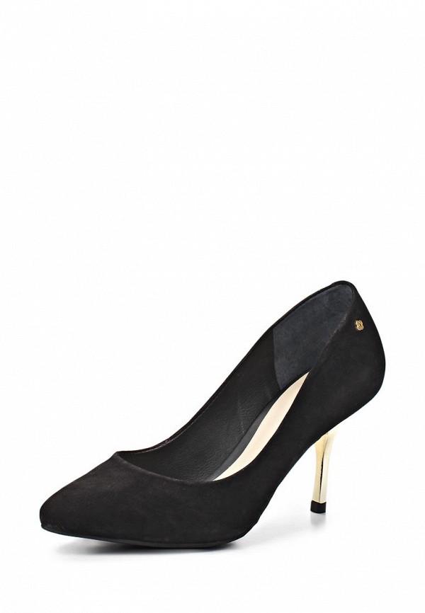 фото Туфли на каблуке-шпильке Capodarte CA556AWAET02, черные