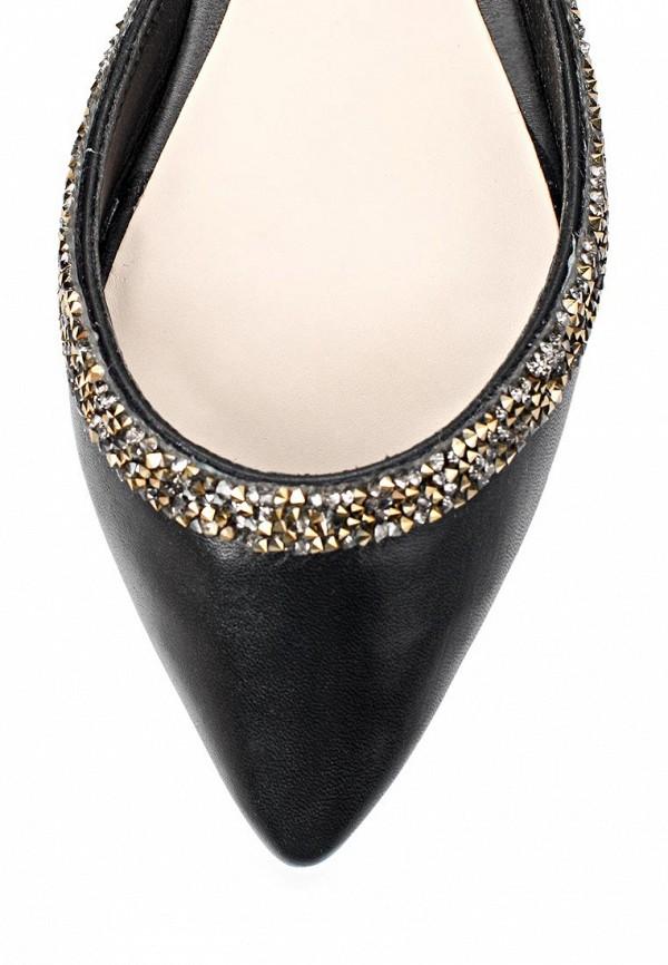 фото Туфли женские без каблука Capodarte CA556AWAET15, черные