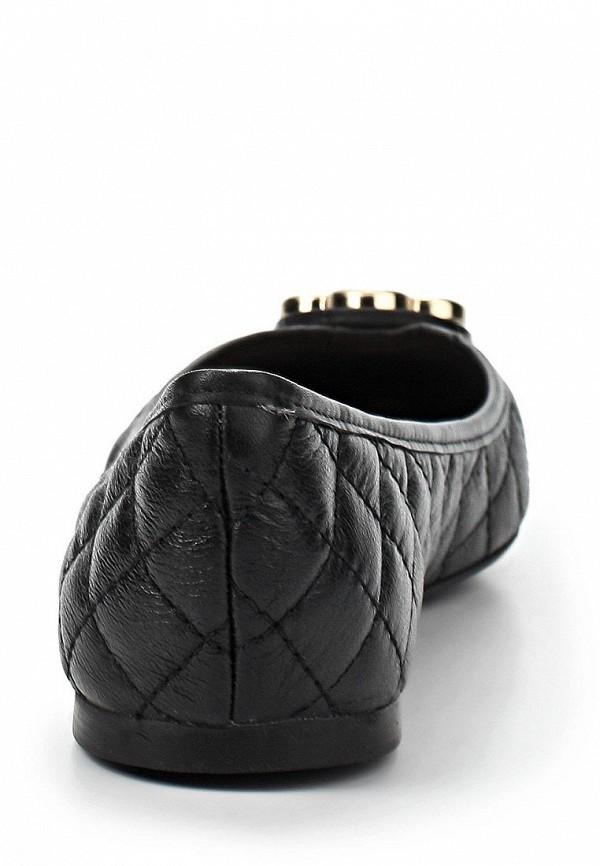 фото Балетки женские Capodarte CA556AWARF51, черные кожаные