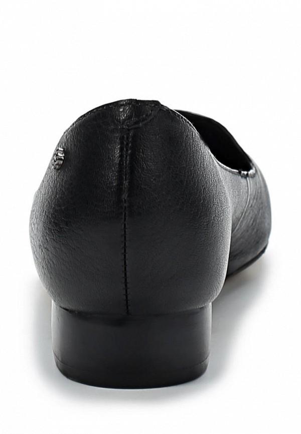 фото Лоаферы женские Capodarte CA556AWKV318, черные/каблук