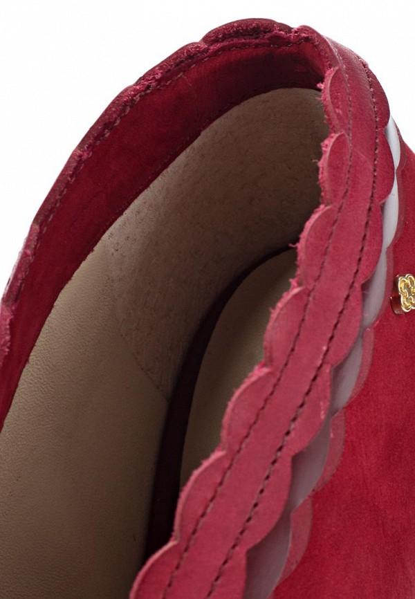 фото Ботильоны с открытым носом Capodarte CA556AWKV322, красные/каблук