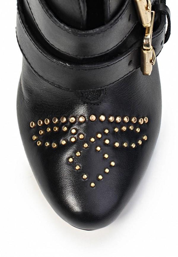 фото Ботильоны женские на каблуке Capodarte CA556AWKV326, черные