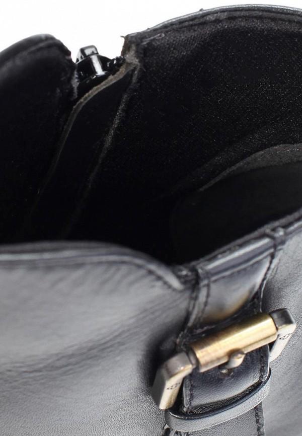 фото Ботильоны на платформе Capodarte CA556AWKV352, черные/каблук