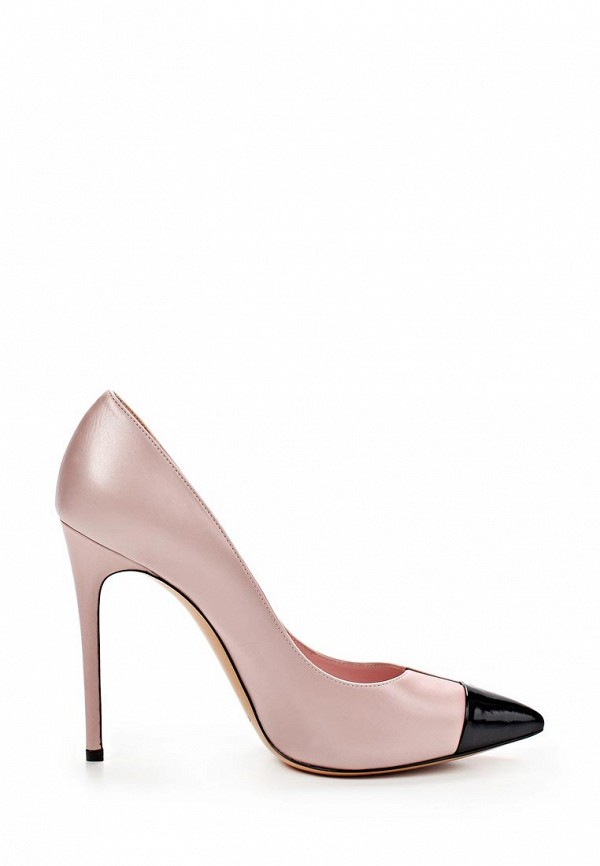 фото Туфли на шпильке Casadei CA559AWAUF28, розовые кожаные