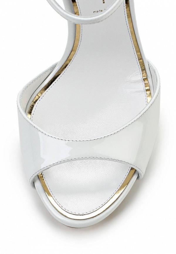 фото Босоножки на шпильке Casadei CA559AWAUF81, белые