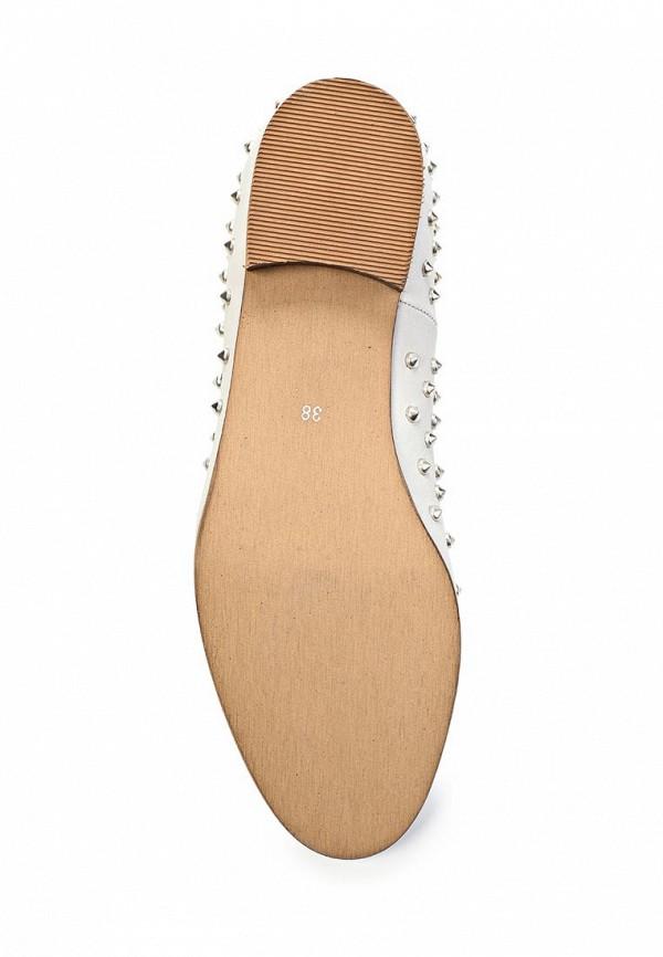 фото Лоферы женские Clodia Miro CL009AWFM983, белые/каблук