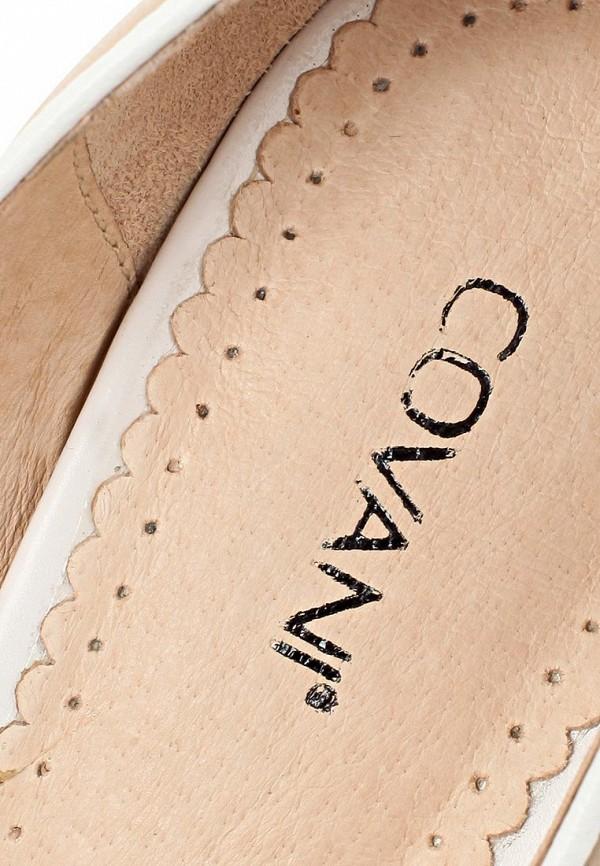 фото Туфли на каблуке с открытым носом Covani CO012AWAPH58, бежевые