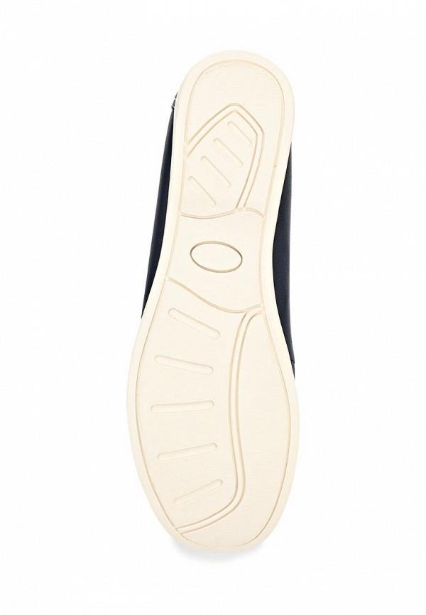 фото Мокасины женские со шнурками Covani CO012AWBQI93, темно-синие (кожа)