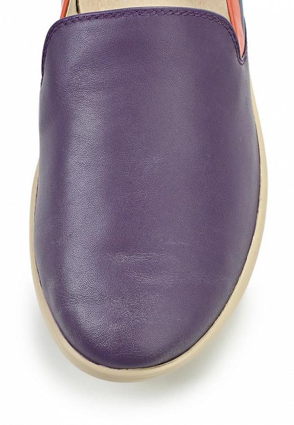 фото Слипоны женские Cooper CO296AWAKW26, фиолетовые