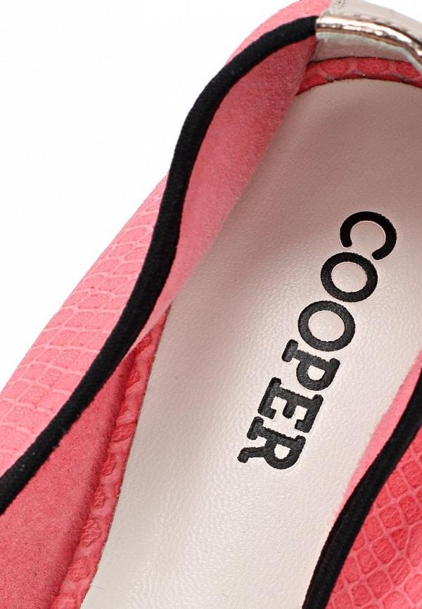 фото Балетки женские Cooper CO296AWAKW28, розовые с золотым