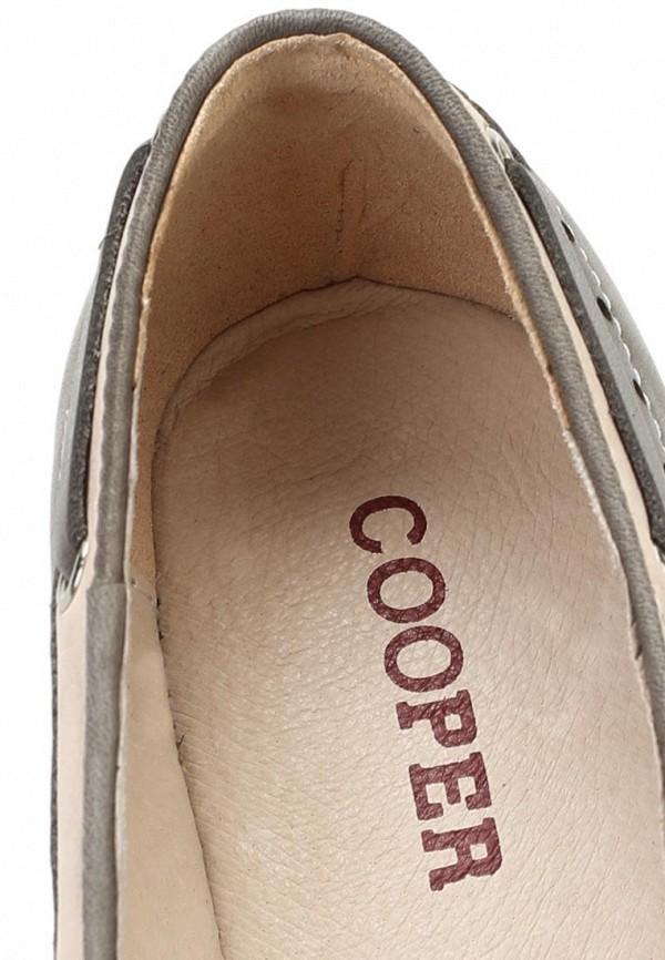 фото Лоферы женские Cooper CO296AWAKW38, серые