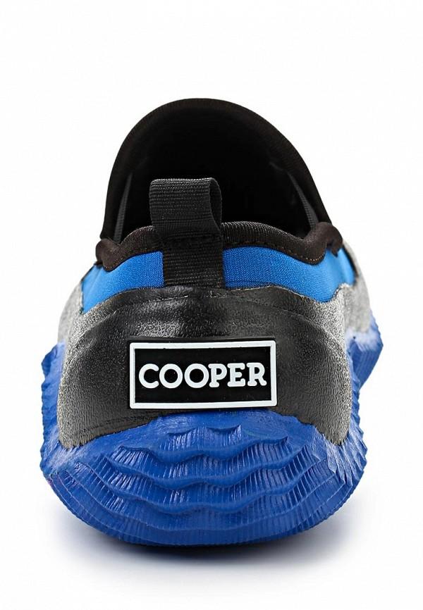 фото Слипоны женские Cooper CO296AWAKW53, черно-синие