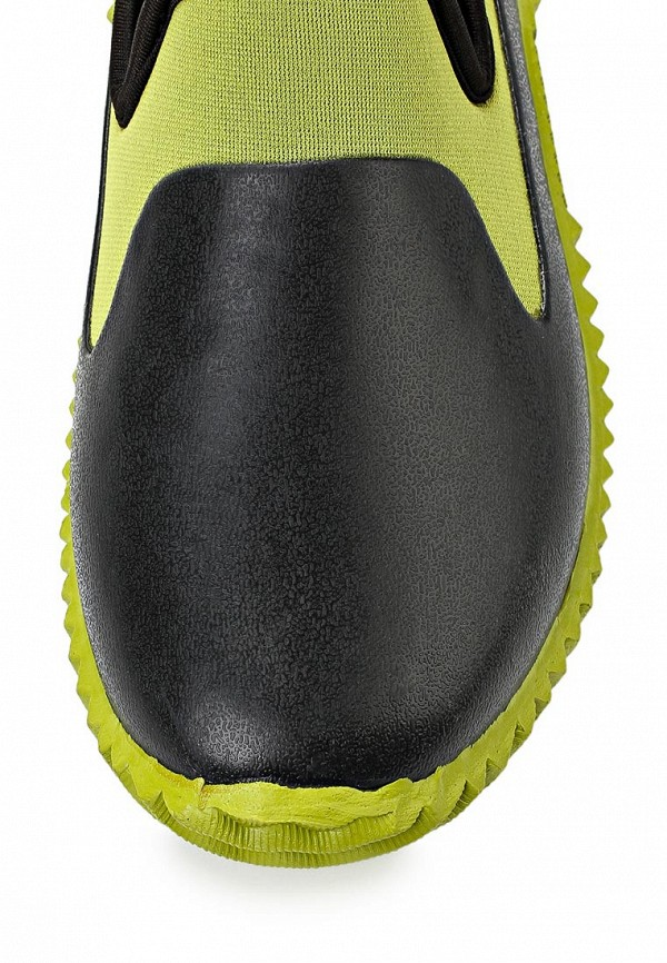 фото Слипоны женские Cooper CO296AWAKW54, черно-зеленые