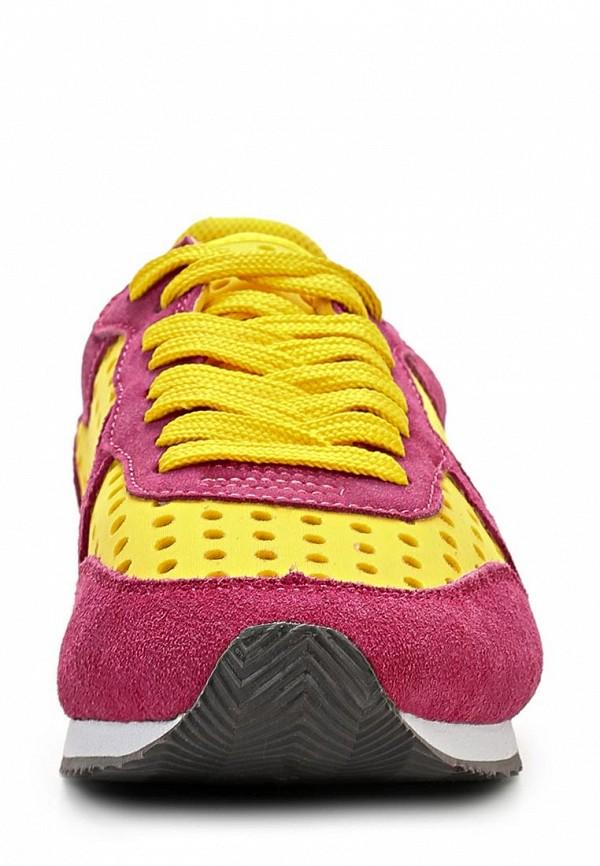 фото Кроссовки женские Colors of California CO472AWBKX60, красно-желтые