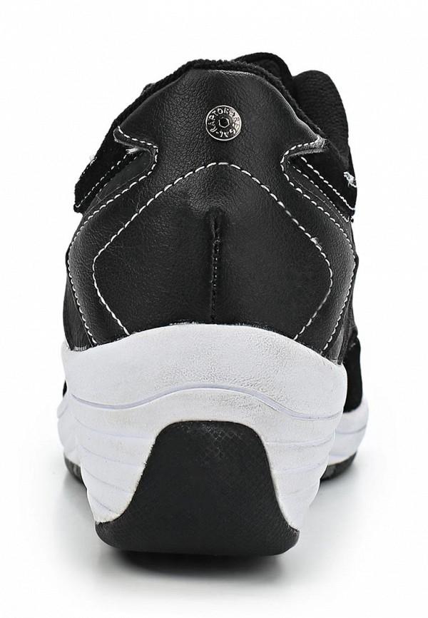 фото Кроссовки женские на платформе Crosby CR004AWCKK07, черные