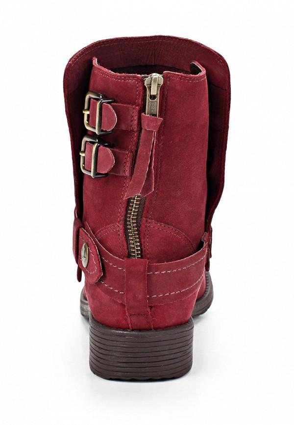 фото Женские полусапожки на каблуке Cravo & Canela CR005AWCHZ06, красные