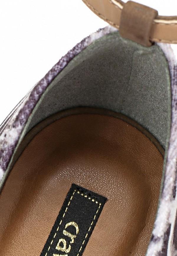 фото Туфли на танкетке Cravo & Canela CR005AWCHZ31, коричневые