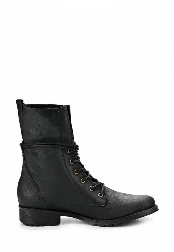 фото Женские полусапожки на шнуровке Cravo & Canela CR005AWCHZ43, черные