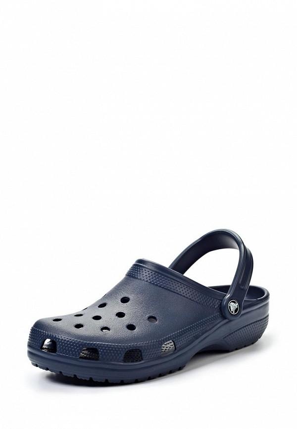 Женские сабо на плоской подошве Crocs (Крокс) 10001-410
