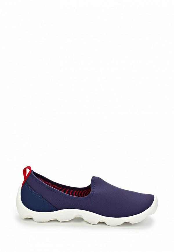 фото Слипоны женские Crocs CR014AWAUV12, фиолетовые