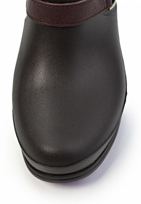 фото Сапоги женские Crocs CR014AWIP160, коричневые (замша)