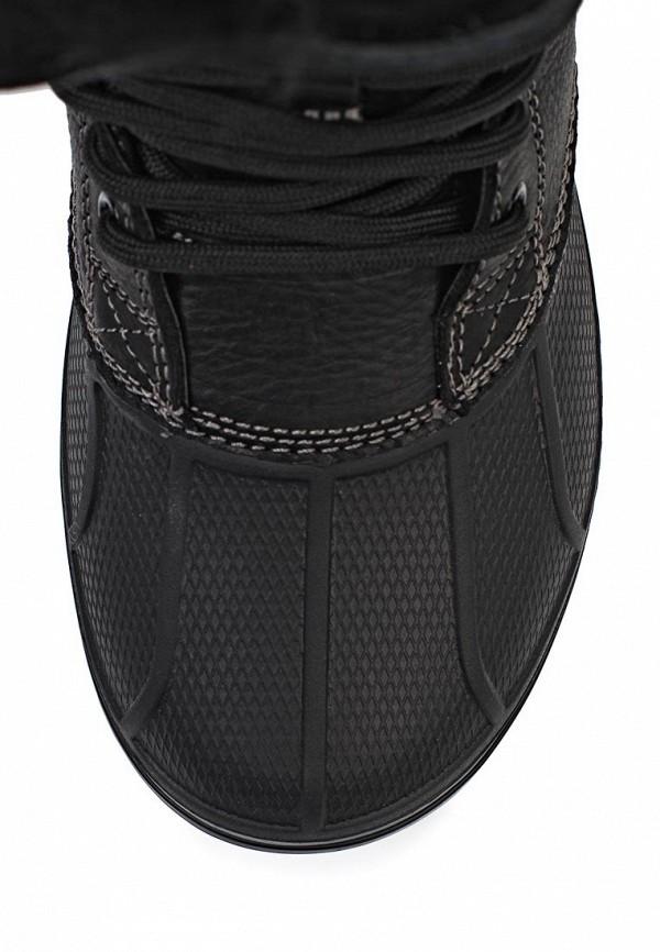 фото Ботинки женские на шнурках Crocs CR014AWIP177, черные высокие