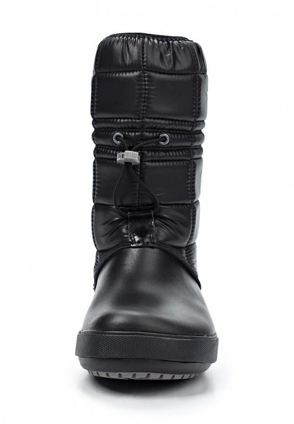 фото Сапоги-дутики женские Crocs CR014AWKC325, черные